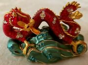 Rare Estee Lauder Lucky Dragon From 2005 Solid Perfume Compact Mibb
