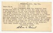 Signed Post Card From Chas. A. Nicol To Joe Berg 1951 - Von Arx - Houdini