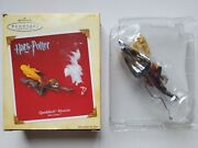 Harry Potter Quidditch Match Boxed Hallmark 2005 Christmas Ornament