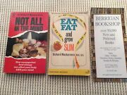 2 X Dr Richard Mackarness Not All In The Mind/ Eat Fat And Grow Slim. 1976/1966