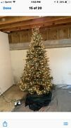 Frontgate Christmas Tree Douglas Fir 7andrsquo Tall Pre- Lit W/ Cover 1000+ Lights
