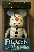 Disney Parks Olaf Frozen Movie Collectible Vinylmation 9 New In Box