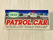 Vintage 1993 Hess Patrol Car Police Car Lights And Sirens Nos Nrfb