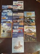 Lot Of 19 Vintage Walthers Railroading Catalogs Magazines