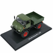 143 Scale Unimog 406a 1970 Truck Lorry Model Diecast Vehicle Collection Gift