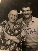 Tom Selleck Frank Sinatra Signed Photo By Tom Selleck In Person