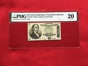 Fr-1379 Fourth Issue Fractional Currency 50c Fifty Cents Dexter Pmg 20 Vf