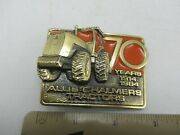 Vintage Limited 1984 70 Years Of Allis Chalmers Tractors Farm Belt Buckle - Usa