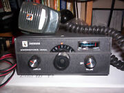 3 Vintage Johnson Messenger Models323/100/123a -cb Radios W/ Micand039s And Pwr Crds