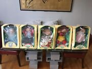 Cabbage Patch Collection And Accessories. Five Kids In Boxes. With Birth Certs.