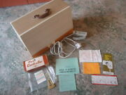 Top Condition Boxed New Home Model 676 Sewing Machine+instructions +extras