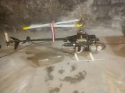 Gmp Helicopter Vintage Rc Motor Engine Sold As Parts Nice