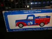 Liberty Classics Citgo 1940 Ford Tanker Toy Truck Coin Bank