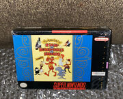 The Adventures Of Rocky And Bullwinkle And Friends New Sealed Rare Snes V-seam