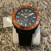 Alpina Seastrong Horological Smartwatch Stainless Black Rubber Al-282lbo4v6 595