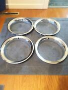 1973 1974 Firebird Trans Am Gto Grandprix Rally Ii Nos Trim Rings 488380 Ram Air