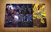 Egyptian Gods Yugioh Playmat Trading Card Mouse Pad Anime A111 Gift Free Shippin