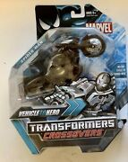 Transformers Marvel Comics Crossovers Black Costume Spider-man Motorcycle