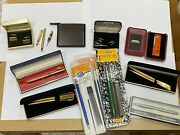 Lot26 - Joblot Of Junk Drawer Items + Pens Made In England