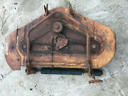 Simplicity Landlord 2010 42 Mower Deck- For Parts Or Repair- Allis Chalmers