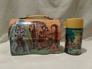 Vintage 1967 It's About Time Metal Lunch Box With Matching Thermos Rare