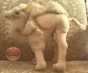Vintage Steiff 11 Tall Camel - Made In Austria - With Button And Tags.