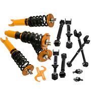 Coilover Shocks + Ball Joints + Rear Lower Camber Arms For Honda Accord 2008-12