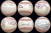 A League Of Their Own Aagpbl 6 Autographed Signed Baseball Blumetta Williams Coa