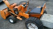 Jacopsen 1200 Chief -o- Matic 12 Hp Kohler Engine With Snow Blower Attachment