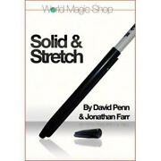 Solid And Stretch Dvd And Gimmicks By David Penn And Jonathon Farr