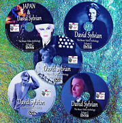 Japan And David Sylvian Music Video Collection 5 Dvd Set 8.5 Hours 71 Music Videos