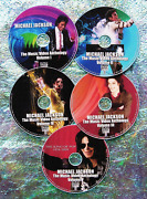 Button And Free Michael Jackson Music Video Collection 1979-2016 5 Dvd 87 Videos