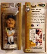 Htf Robin Yount 2002 All Star Game Exclusive Ud Bobblehead - Brewers - New