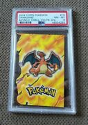 Topps Advanced Challenge Die-cut Embossed Cards Nm Charizard 18 Of 18 Psa 8