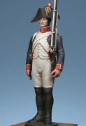 French Line Infantry Soldier With Rifle Tin Painted Toy Miniature Pre-sale   Art