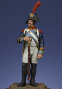 French Drum Corporal, 1805 Tin Painted Toy Miniature Pre-sale   Art