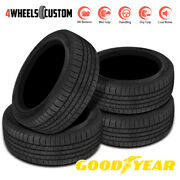 4 X New Goodyear Assurance All-season 235/55r18 100h Low-noise Performance Tire