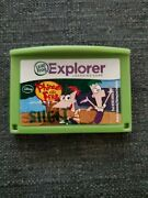 Leapfrog Leapster Explorer Phineas And Ferb Cartridge Leap Pad 23gs Xdi Ultra