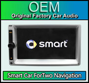 Smart Car Fortwo Cd Player Navigation Sat Nav Radio Stereo With Code Gps Aerial
