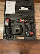 Craftsman 14.4v Cordless 3/8-in Drill, 2 Battery Charger And Case Set 315.115470