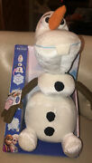 Disney Frozen Pull Apart And Talkinand039 Olaf Plush Figure - Signature Phrases New