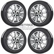 18 Cadillac Cts Pvd Bright Chrome Wheels Rims And Tires Oem Set 4 2008-2013 ...