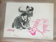 Mr Brainwash - I Find Beauty Everywhere - Pink Edition Signiert Signed X/75