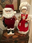 Christmas Animated Santa And Mrs Claus By Telco