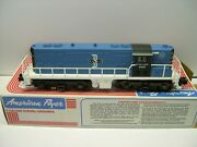 American Flyer Boston And Maine Bandm Freight Set - Diesel Engine + 5 Cars In Obs