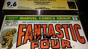 Jim Steranko Signed Fantastic Four 131 Cgc Ss 9.6 1973 Nm+ - White Pages