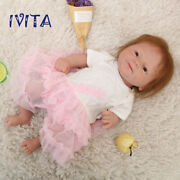 141.8kg Hair Root Girl Doll Full Body Silicone Reborn Baby Doll Kids Child Toys