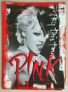 Pink Pnk Try This Tour Programme 2004 Htf Trouble Last To Know