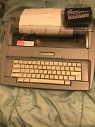 Brother Sx-4000 Portable Daisy Wheel Electronic Lcd Display Typewriter + Extras