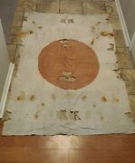 Original Large Japanese Ww2 Wwii Flag Possible Small Ship Or Unit Flag